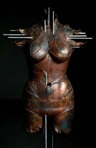 rzeźby kute