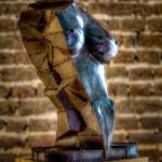 Thumbnail for rzeźba metalowa Persefona Jesień